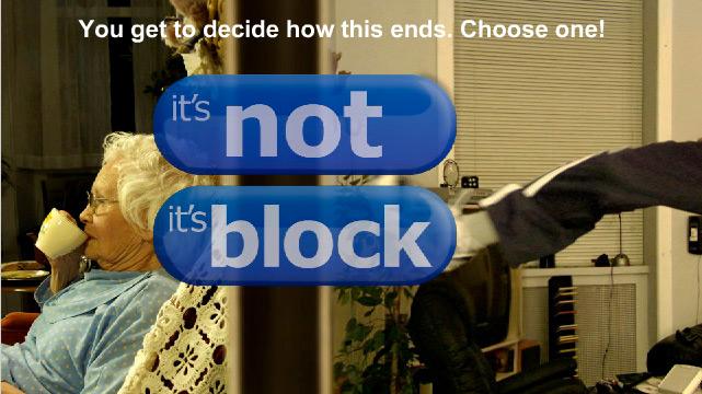 Is it block?