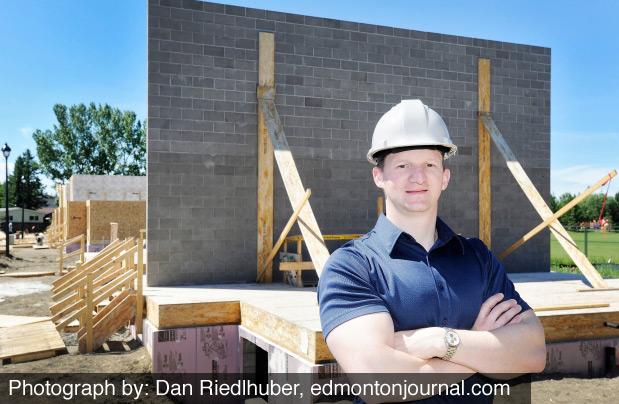 Concrete walls a sound idea for Habitat home – Edmonton Journal