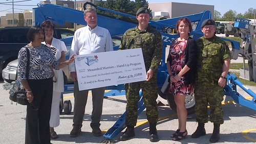 CCMPA supports a Wounded Warrior — Corporal Paul MacLean