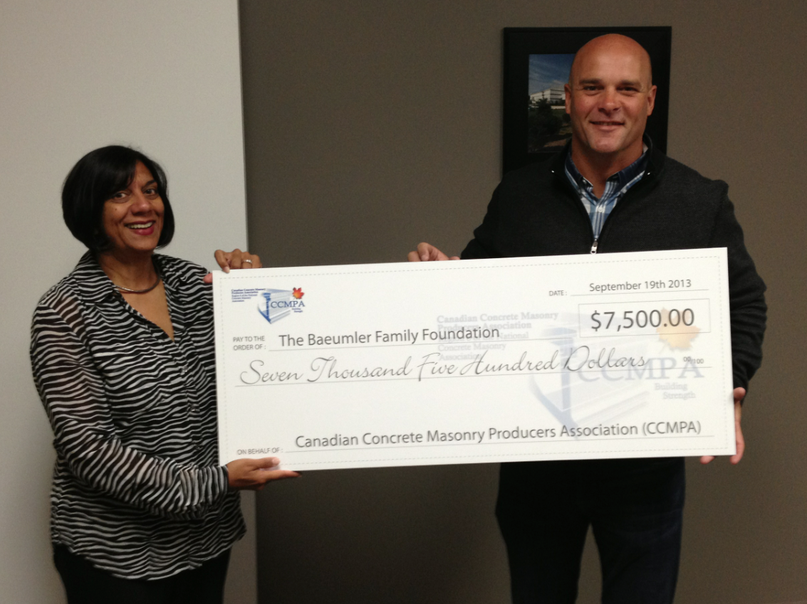 CCMPA supports the Baeulmer Family Foundation