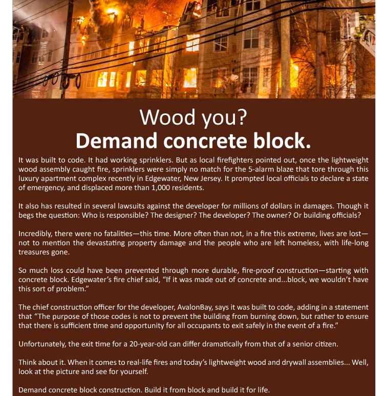 Demand Concrete Block