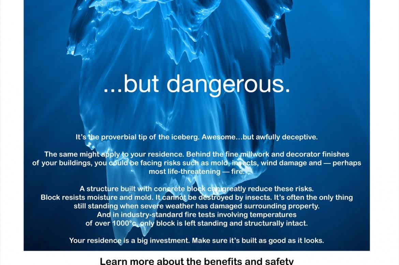 CCMPA Iceberg Ad