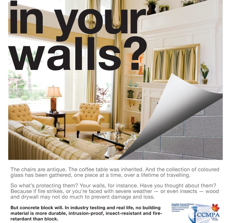 CCMPA What's in your walls Ad
