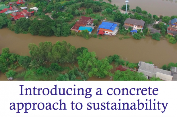 Introducing a concrete approach to sustainability